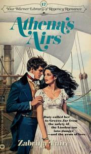 Cover of: Athena's Airs by Zabrina Faire
