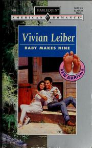 Cover of: Baby Makes Nine | Leiber