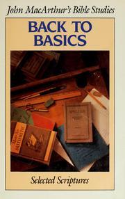 The Basics - freebiblestudy.org