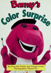 Cover of: Barney's color surprise