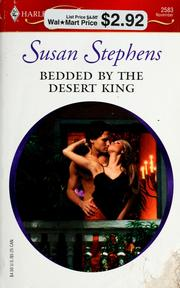 Cover of: Bedded By The Desert King (Harlequin Presents) | Susan Stephens