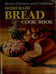 Cover of: Better homes and gardens homemade bread cook book. |