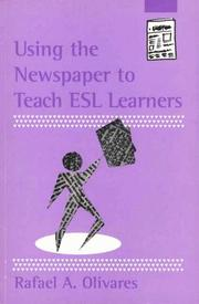 Cover of: Using the newspaper to teach ESL learners