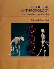 Cover of: Biological anthropology |
