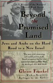 Cover of: Beyond the promised land | Glenn Frankel