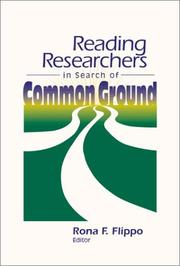 Cover of: Reading Researchers in Search of Common Ground | IRA