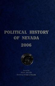 Cover of: Political history of Nevada | Renee Parker