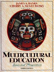 Cover of: Multicultural education | edited by James A. Banks, Cherry A. McGee Banks.