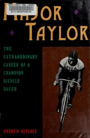 Cover of: Major Taylor | Andrew Ritchie