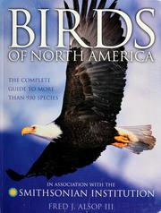 Birds of North America by Fred Alsop