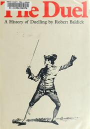 The duel by Robert Baldick