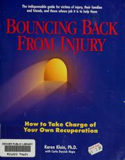 Cover of: Bouncing back from injury | Karen Klein