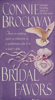 Cover of: Bridal favors | Connie Brockway