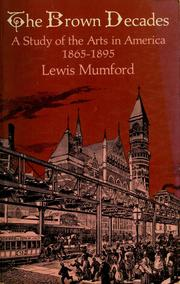 Cover of: The Brown Decades | Lewis Mumford