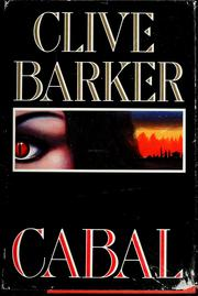 Cover of: Cabal by Clive Barker