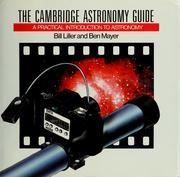 Cover of: The  Cambridge astronomy guide | William Liller