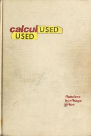Cover of: Calculus | Harley Flanders