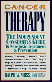 Cover of: Cancer therapy | Ralph W. Moss
