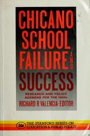Cover of: Chicano school failure and success |