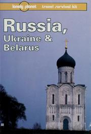 Cover of: Russia, Ukraine & Belarus by