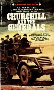 Cover of: Churchill and the generals | Barrie Pitt