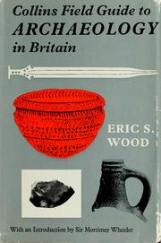 Cover of: Collins field guide to archaeology | Eric Stuart Wood