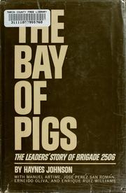 Cover of: The  Bay of Pigs by Haynes Bonner Johnson