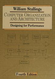 Computer Organization And Architecture 1996 Edition Open Library