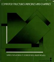 Cover of: Computer structures