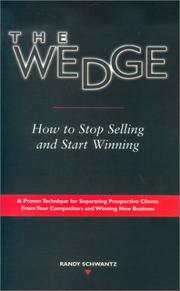 Cover of: The wedge
