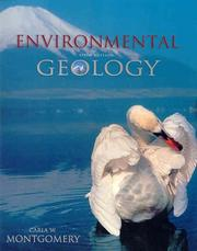 Cover of: Environmental geology