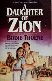 Cover of: A  daughter of Zion | Brock Thoene