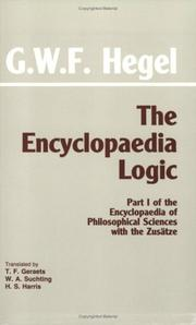 Cover of: The Encyclopaedia Logic