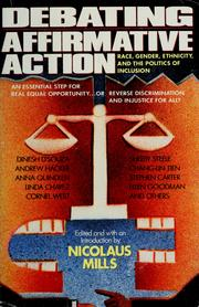 Debating affirmative action