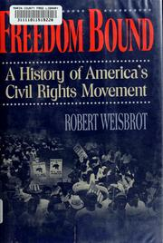 Cover of: Freedom bound | Robert Weisbrot