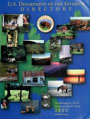Cover of: Directory, Washington, D.C. metropolitan area, 2000 | United States. Dept. of the Interior.