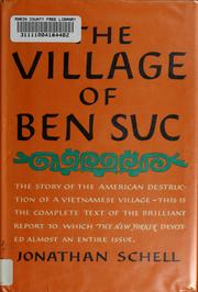Cover of: The village of Ben Suc