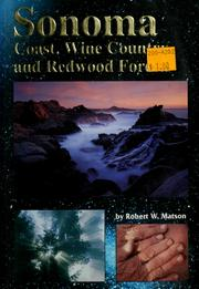 Cover of: Sonoma Coast: North of San Francisco  | Robert W. Matson