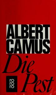 Cover of: Die Pest | Albert Camus
