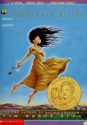 Cover of: Esperanza rising | Pam Muñoz Ryan