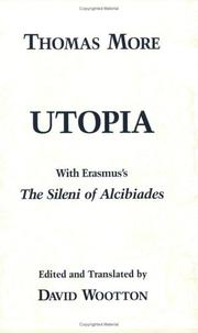 Cover of: Utopia  (Hackett Publishing Co.)