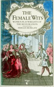 Cover of: The  Female wits by Fidelis Morgan.