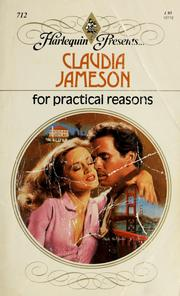 Cover of: For Practical Reasons | Claudia Jameson