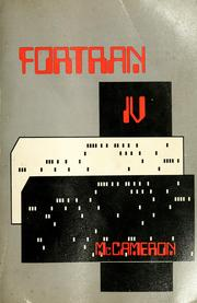 FORTRAN IV by Fritz A. McCameron