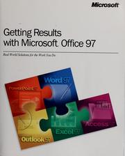 Cover of: Getting results with Microsoft Office 97 |