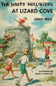 Cover of: The Happy Hollisters at Lizard Cove | Jerry West