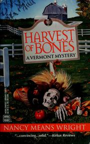 Cover of: Harvest Of Bones (Worldwide Library Mysteries) | Wright