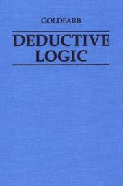 Cover of: Deductive Logic