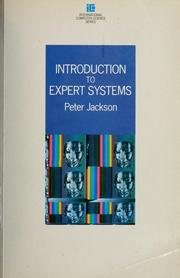 Cover of: Introduction to expert systems | Jackson, Peter