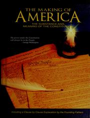 Cover of: The  making of America | W. Cleon Skousen